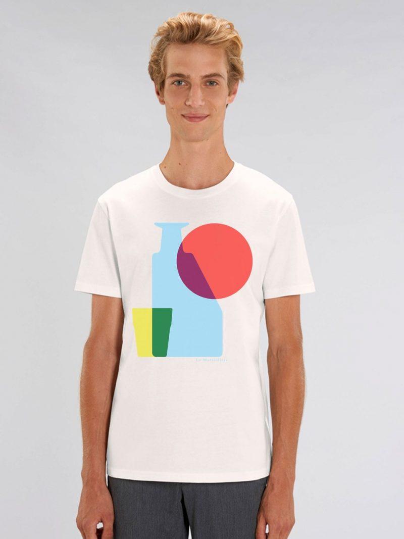 "APERO POP BLANC 800x1067 - Tee-shirt homme "" Apero pop"""
