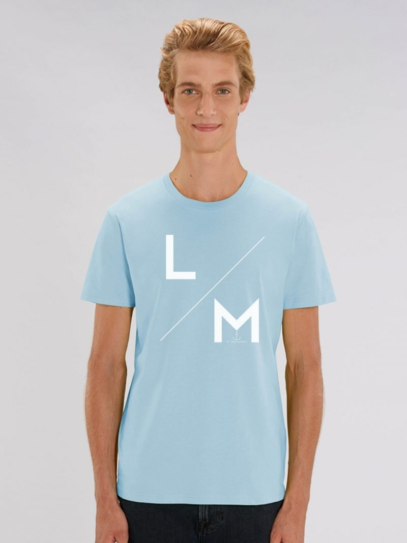 "LM COLLEGE CIEL 800x1067 - Tee-shirt homme "" LM Collège"""